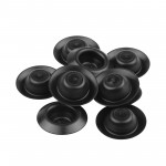 "Kit 10 tapa-furo 1/2"" depressed plugs Dentcraft"