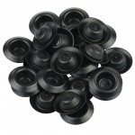 "Kit 25 Tapa-furo 1/2"" depressed plugs Dentcraft"