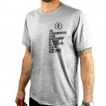 Camiseta Fast Número 1 gola redonda